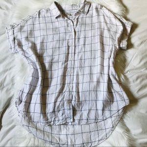 Goodthreads Modal Short-Sleeve Button-Front Shirt